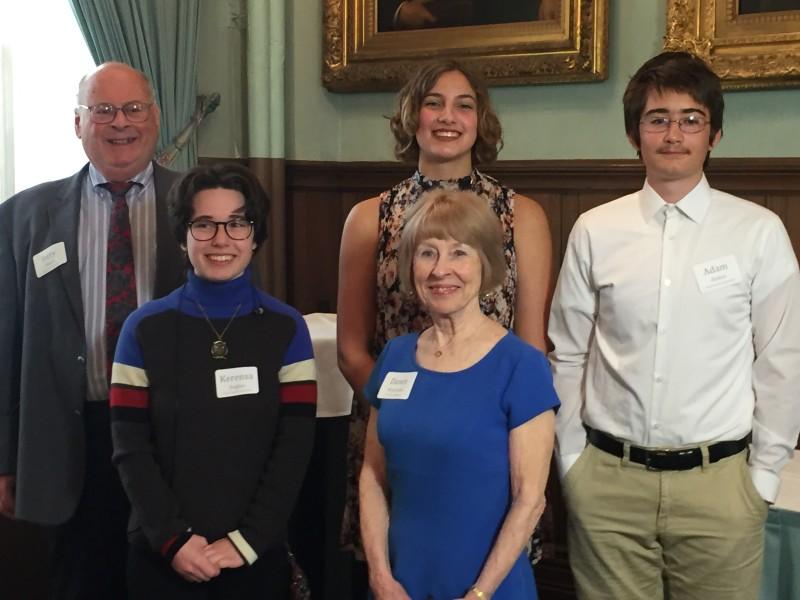 Essay Contest 2017 Winners